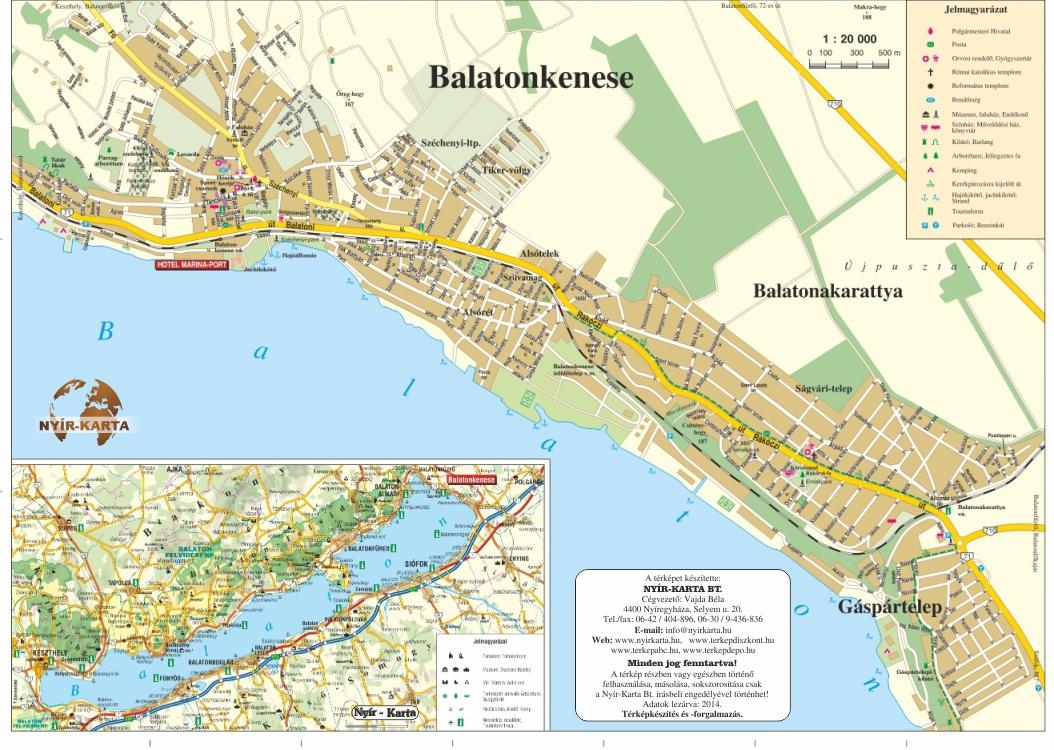 balatonkenese térkép Térkép készítés | Nyírkarta Kft. balatonkenese térkép
